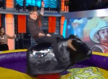 keith urban rides mechanical bull