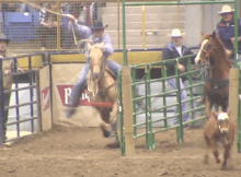 tie down roping start