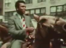 boxer muhammad ali on horse:therodeocowboy.com