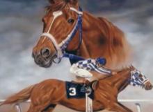 secretariat painting:therodeocowboy.com